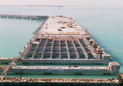 بندر سازی و سازه های دریایی